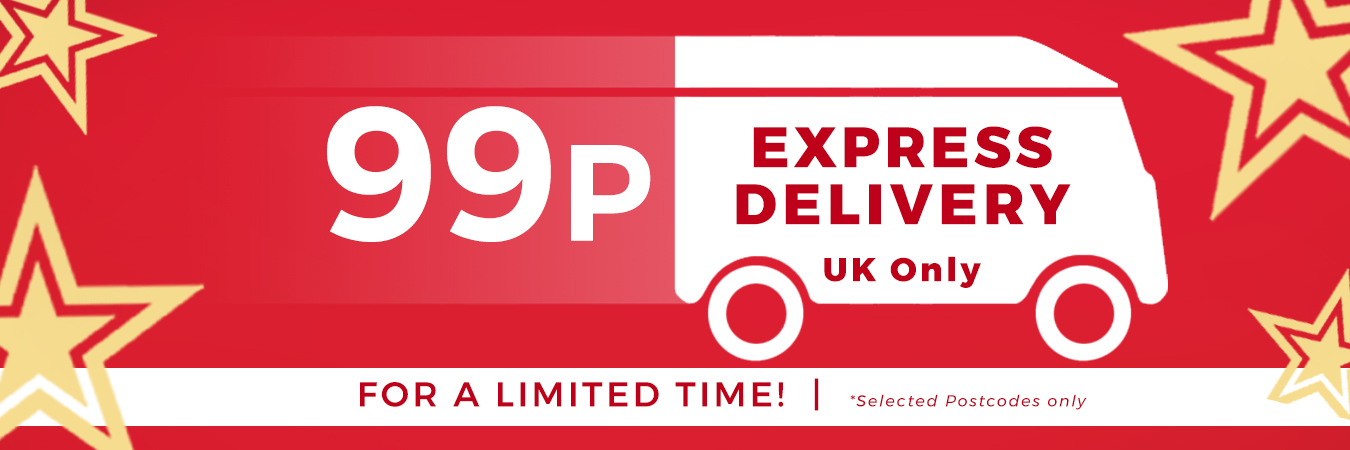 99p express delivery